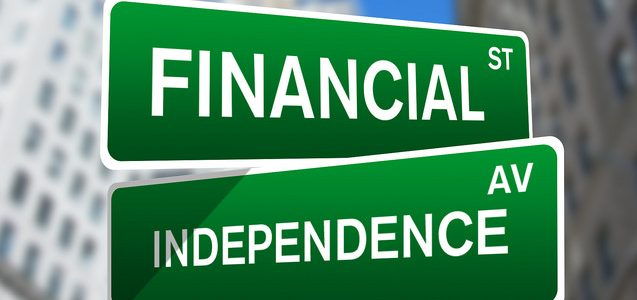 When can you attain financial independence?