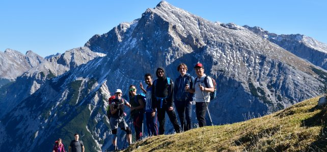 Hiking to Brunnensteinspitze (2180m)